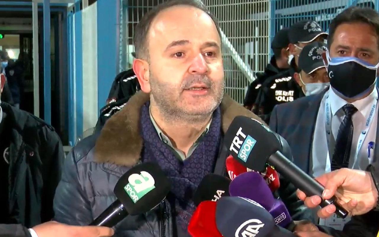BB. Erzurumspor Başkanı Ömer Düzgün: Hakemlerin adaletinin olmadığını gördük