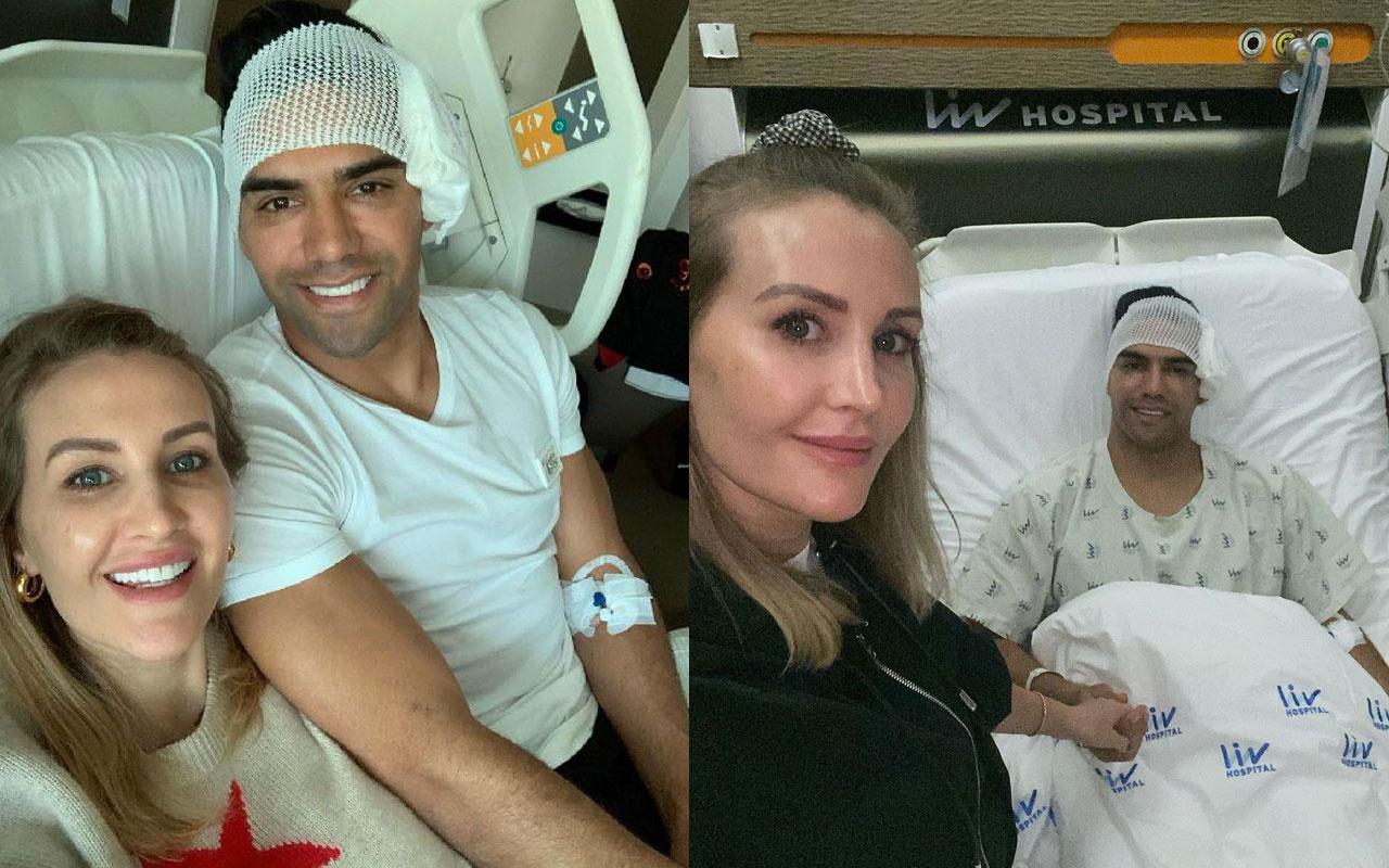 Ameliyat sonrası Radamel Falcao'dan mesaj var