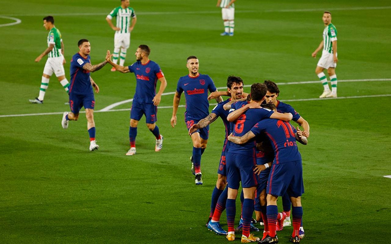 Atletico Madrid liderlik koltuğunu geri aldı