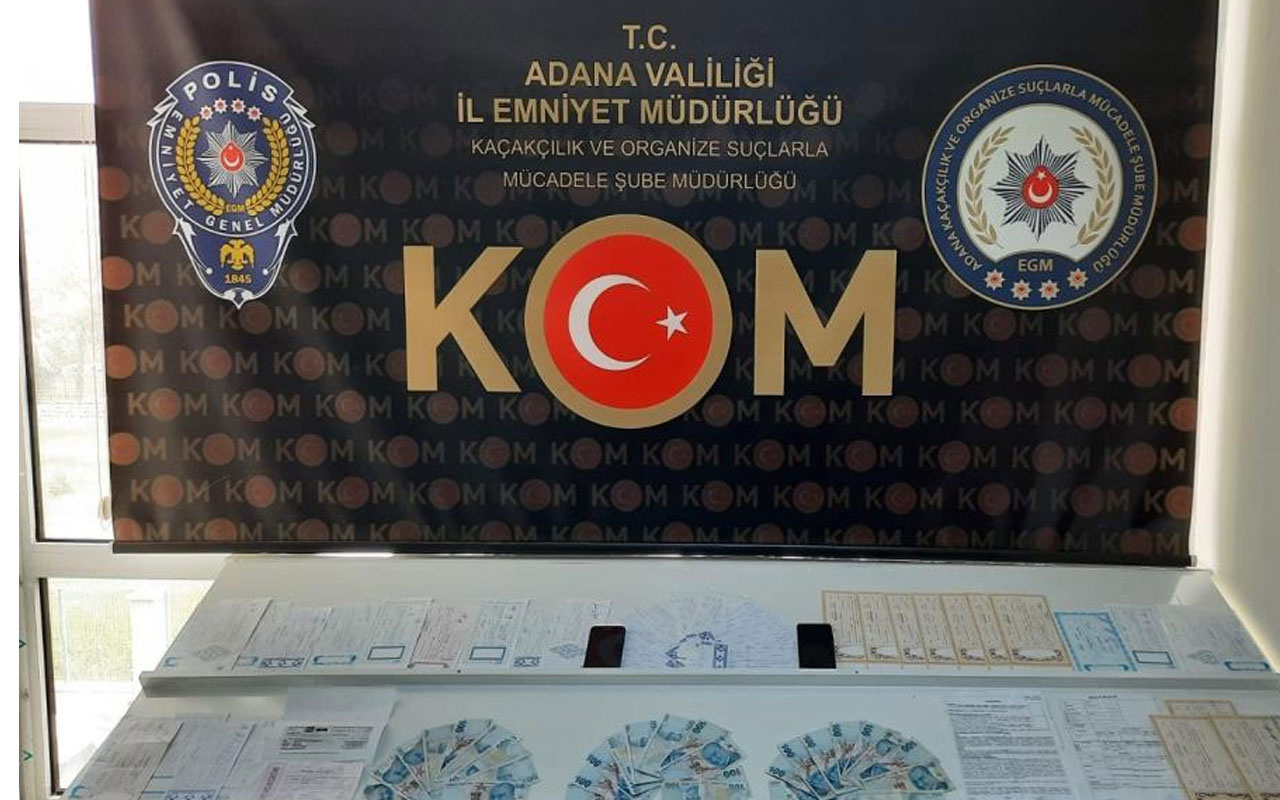 Şüpheli 2 kişi her yerde aranıyor! Adana'da tefecilik yapan memur tutuklandı