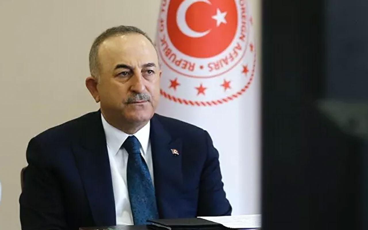 Bakan Çavuşoğlu, Mescid-i Aksa için Suudi Arabistan'a indi