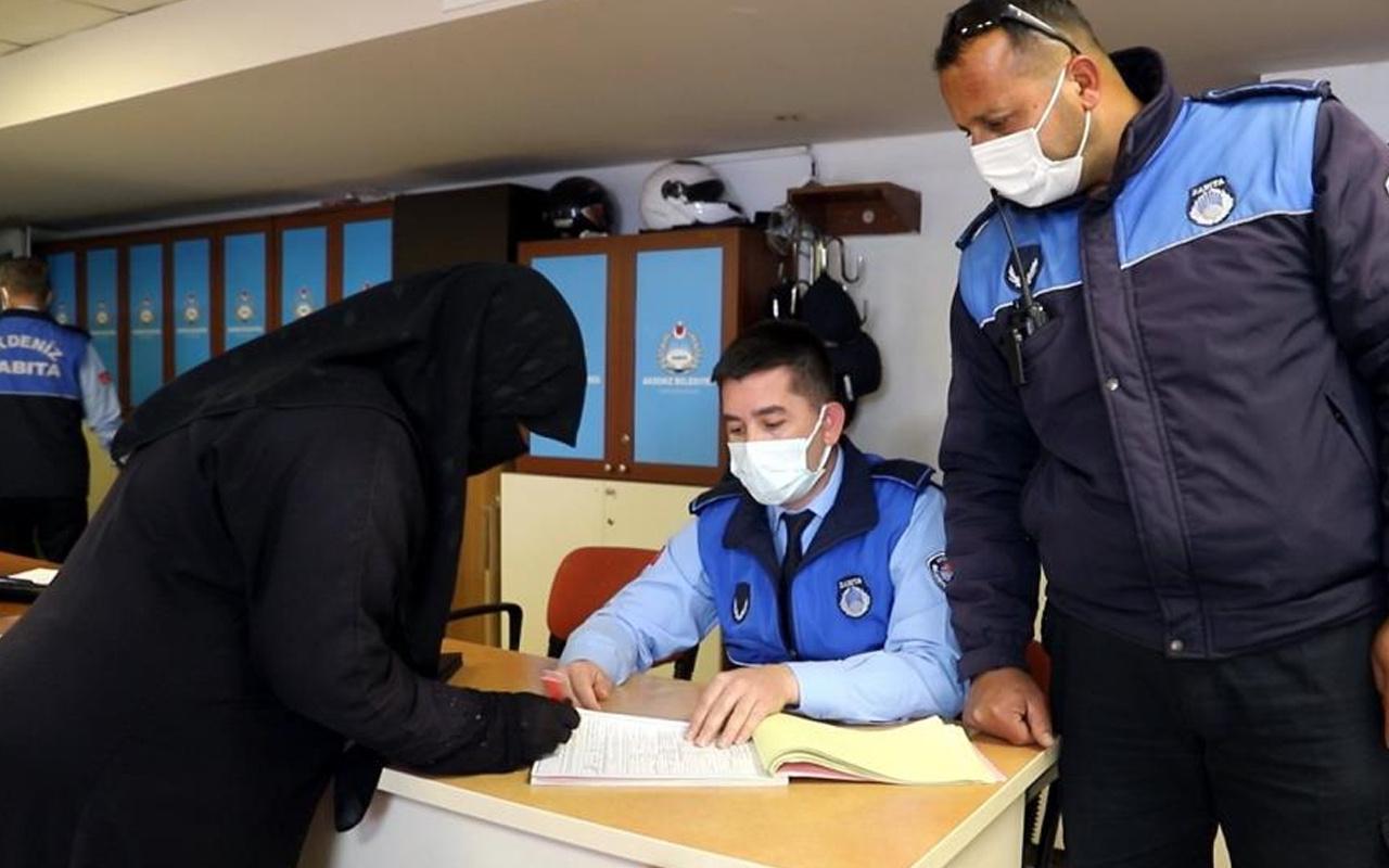 Mersin'de dilencilik yaptığı belirlenen kadının mal varlığı pes dedirtti