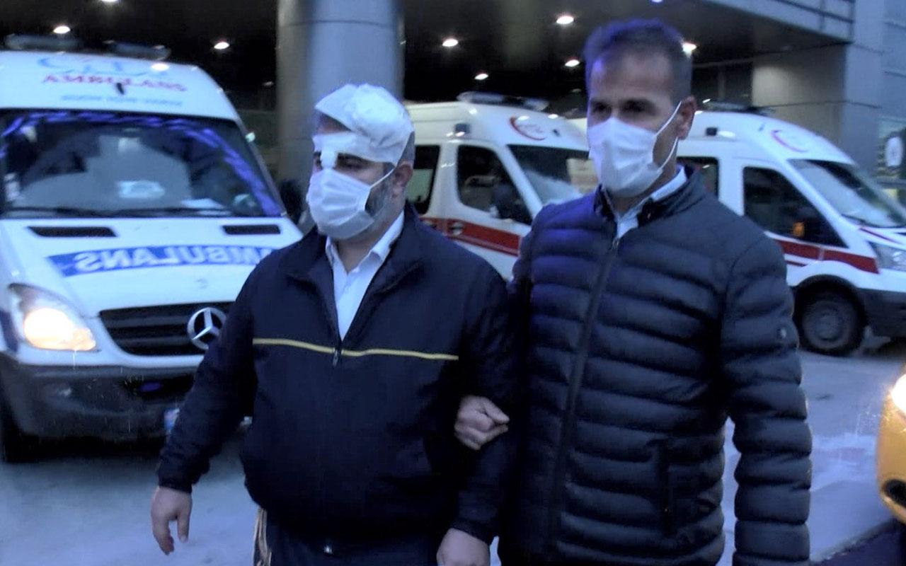 Sarıyer'de şoke eden yol verme kavgası! mermerle İETT şoförünün başını kırdı
