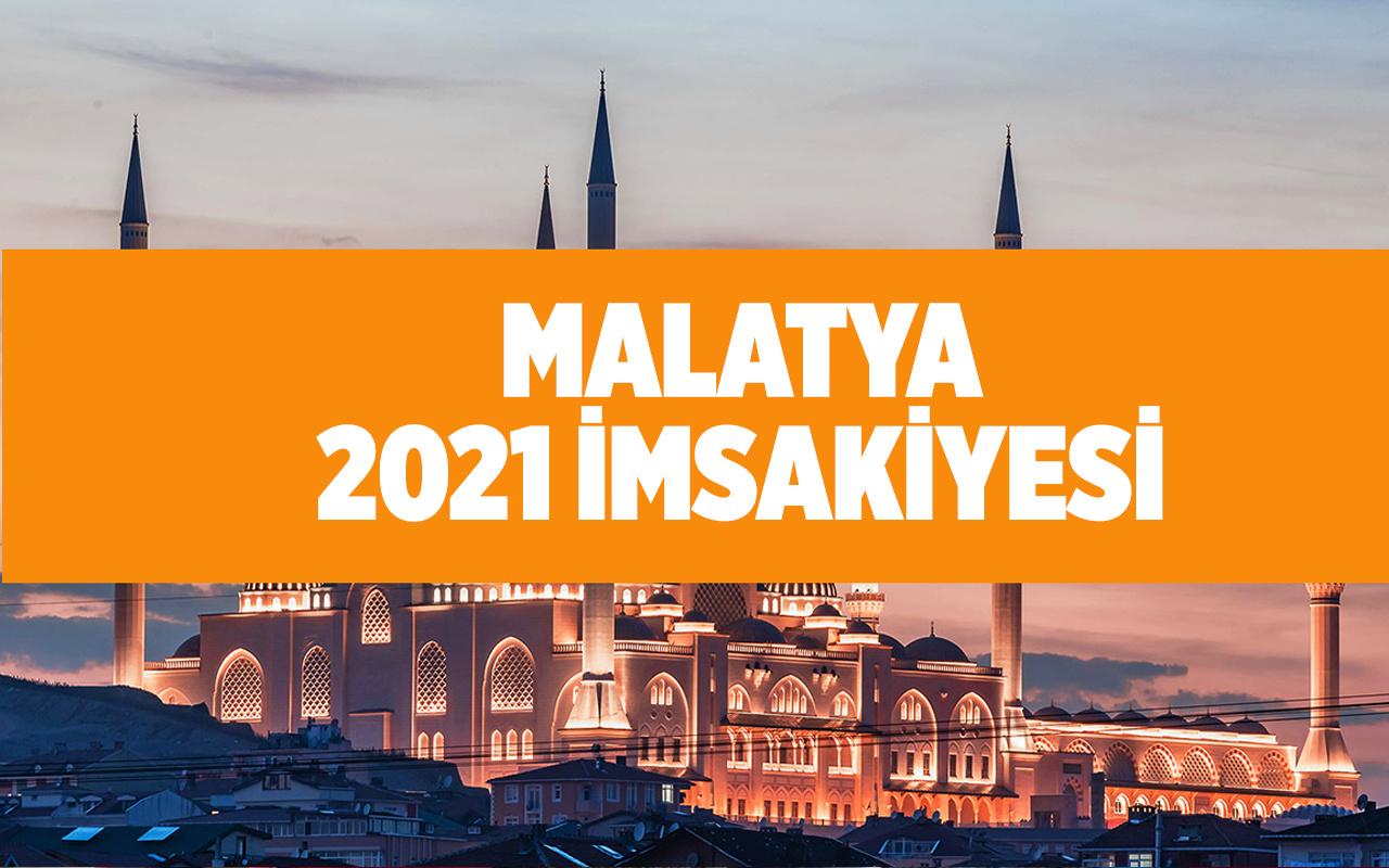 Malatya'da sahur saatleri 2021 Diyanet imsakiye tablosu