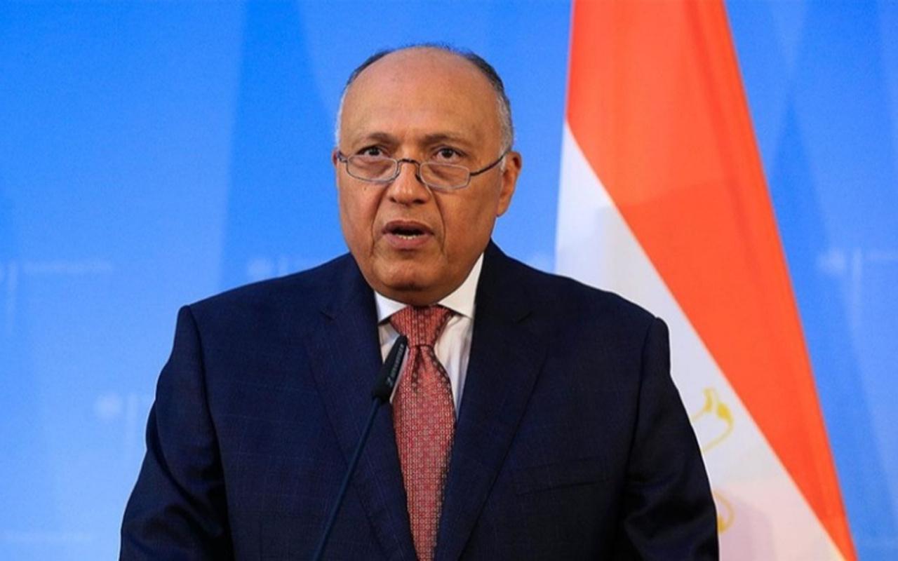 Mısır Dışişleri Bakanı'ndan Türkiye açıklaması! İlişkileri geliştirmek istiyoruz