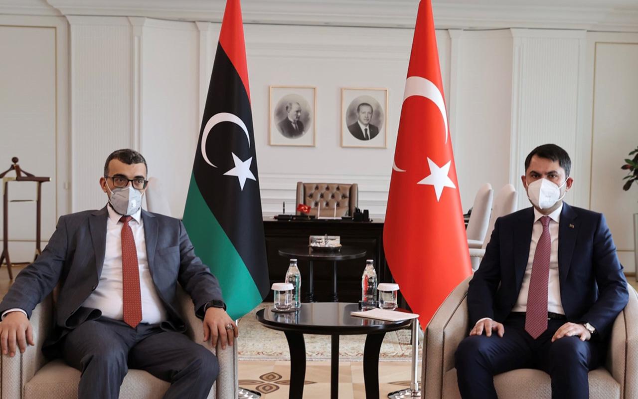 Çevre ve Şehircilik Bakanı Kurum Libya Yerel Yönetimler Bakanı Bedreddin El-Sadık El-Tumi'yi ağırladı
