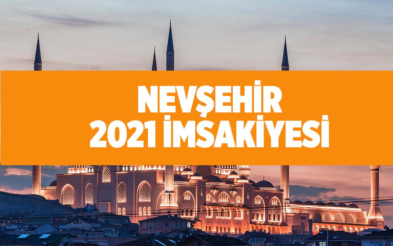 Nevşehir sahur iftar saatleri 2021 Diyanet imsakiye