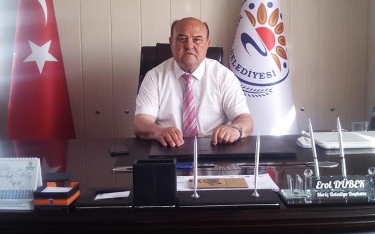 Edirne'de belediye başkanı ve ailesi ikinci doz aşıdan 16 gün sonra Covid-19'a yakalandı