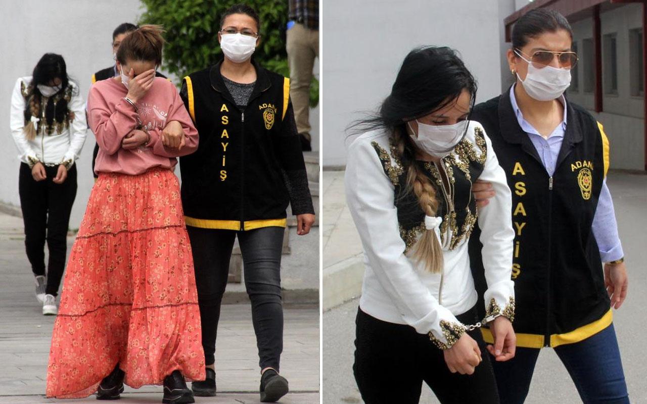 'Mobil' kadın hırsızlar Adana'da yakayı ele verdi