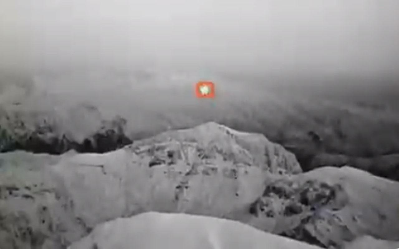 Milli Savunma Bakanlığı görüntüleri paylaştı! Saldırı amaçlı kullanılan balon vuruldu
