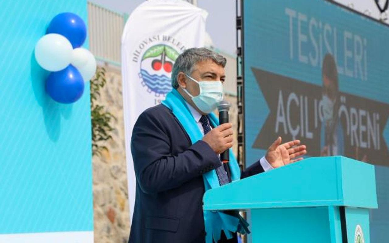 Dilovası Belediye Başkanı Hamza Şayir'den 2 bin metrekarelik spor tesisi