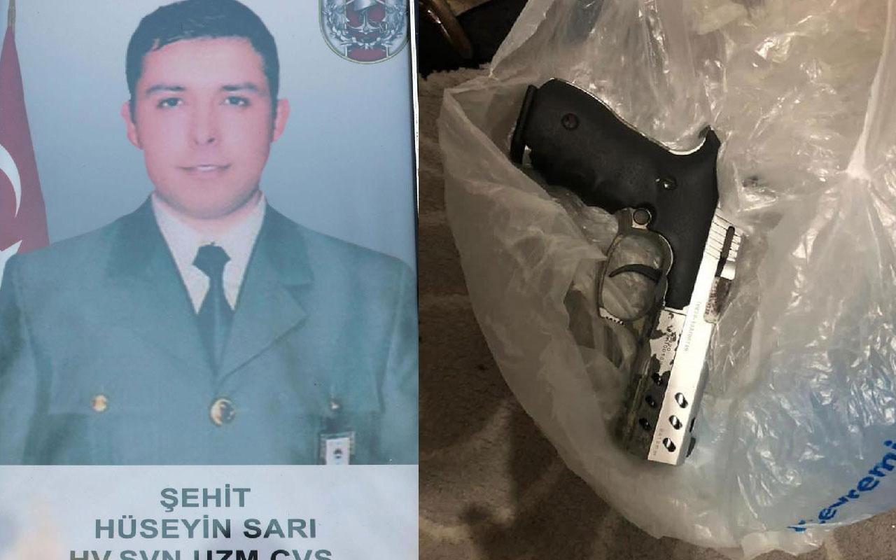 Diyarbakır'da terör operasyonu! Gara şehidinin tabancası ele geçirildi