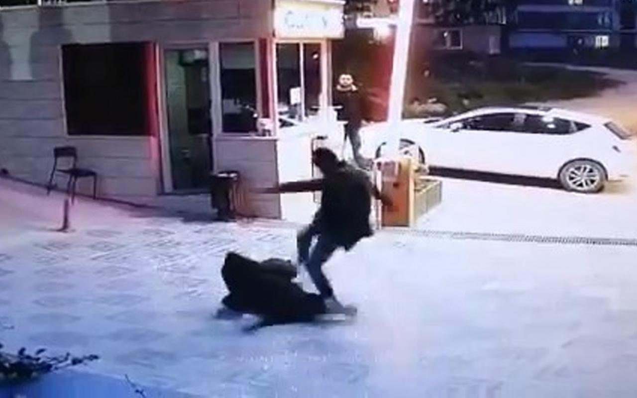 Bursa'da yeğeninin kaybolduğu gerekçesiyle site güvenliğine tekme-tokat saldırdı!