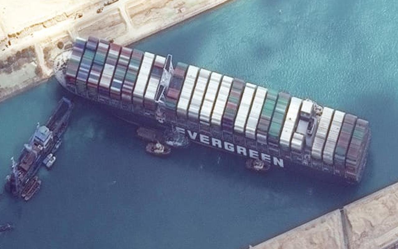 Süveyş'i tıkayan gemiyle ilgili yeni gelişme: Japonya tazminat ödemezse Mısır el koyacak