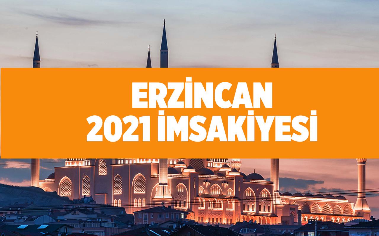 Erzincan iftar ve sahur vakitleri 2021 Erzincan'da bugün iftar kaçta?