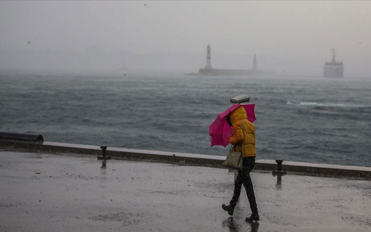 Meteoroloji'den İstanbul ve Trakya için fırtına uyarısı! Saati de belli