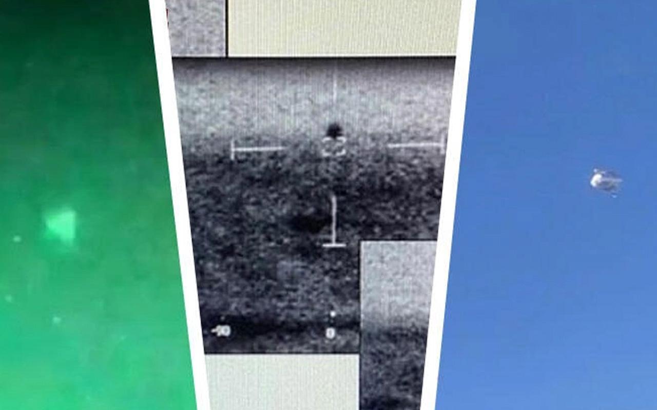 Pentagon'dan UFO itirafı! İddialar gerçek çıktı