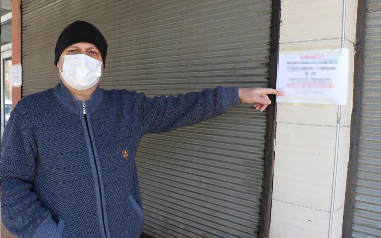 Zonguldak'tan alkışlanacak hareket! Duvardaki notu gören dua ediyor