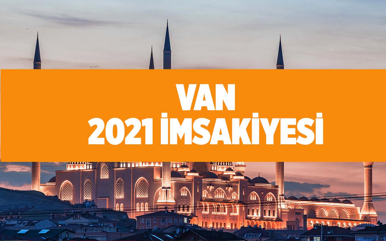 Van iftara kaç saat kaldı iftar saatleri 2021
