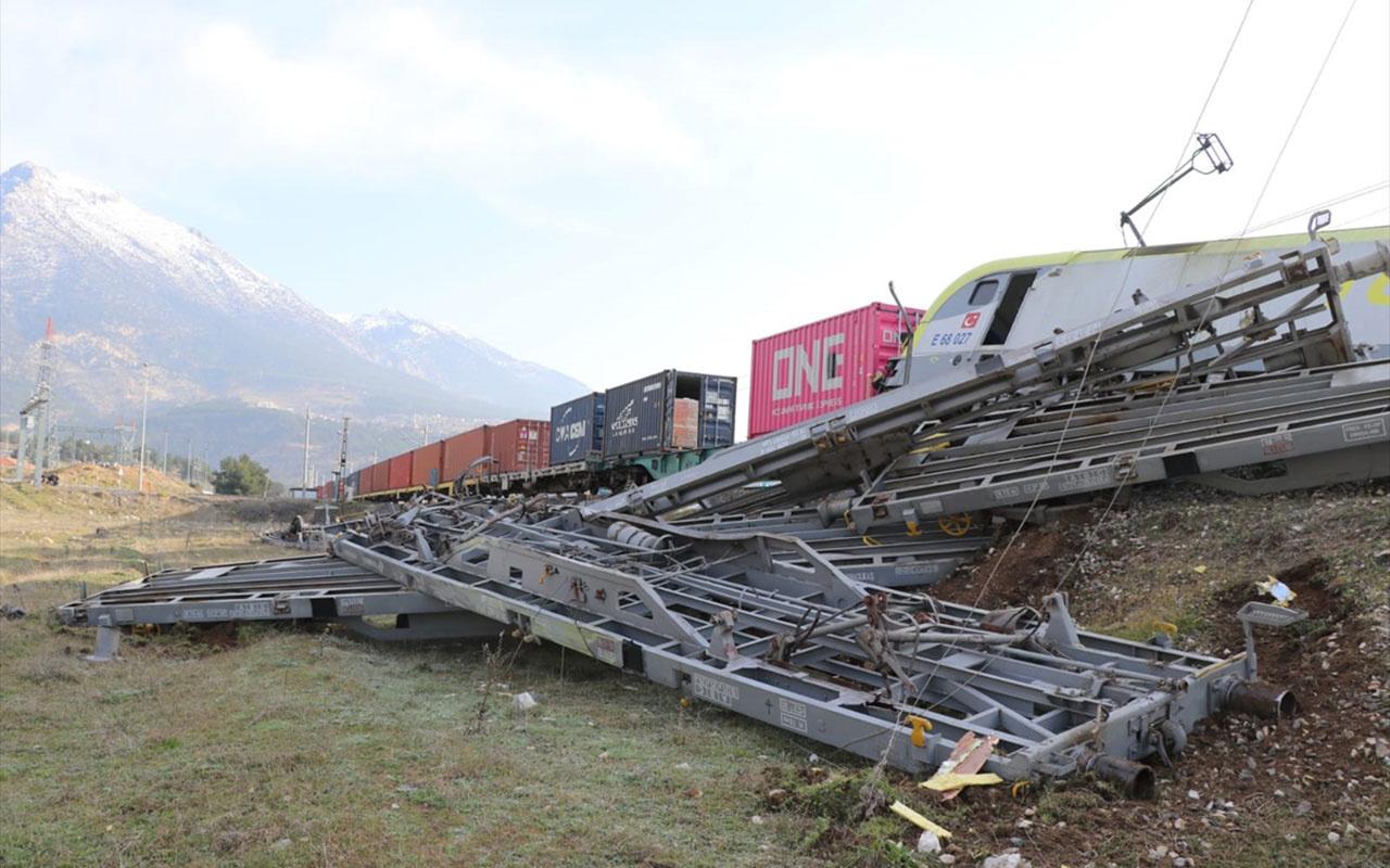Son dakika! Adana'da tren kazası! iki tren çarpıştı 8 vagon raydan çıktı