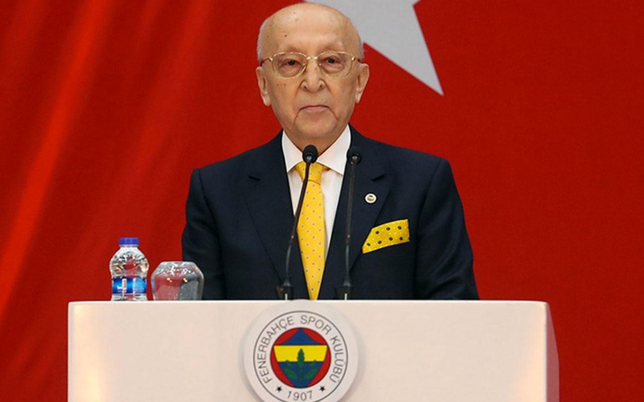 Vefa Küçük: Ali Sami Yen Bey'in konuşması belgelidir