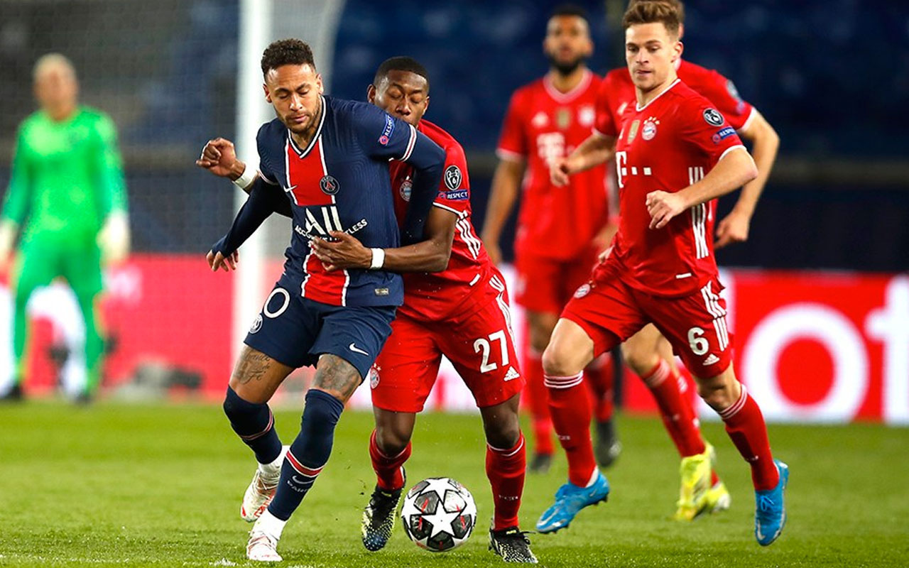 Bayern Münih kazandı tur atlayan PSG oldu
