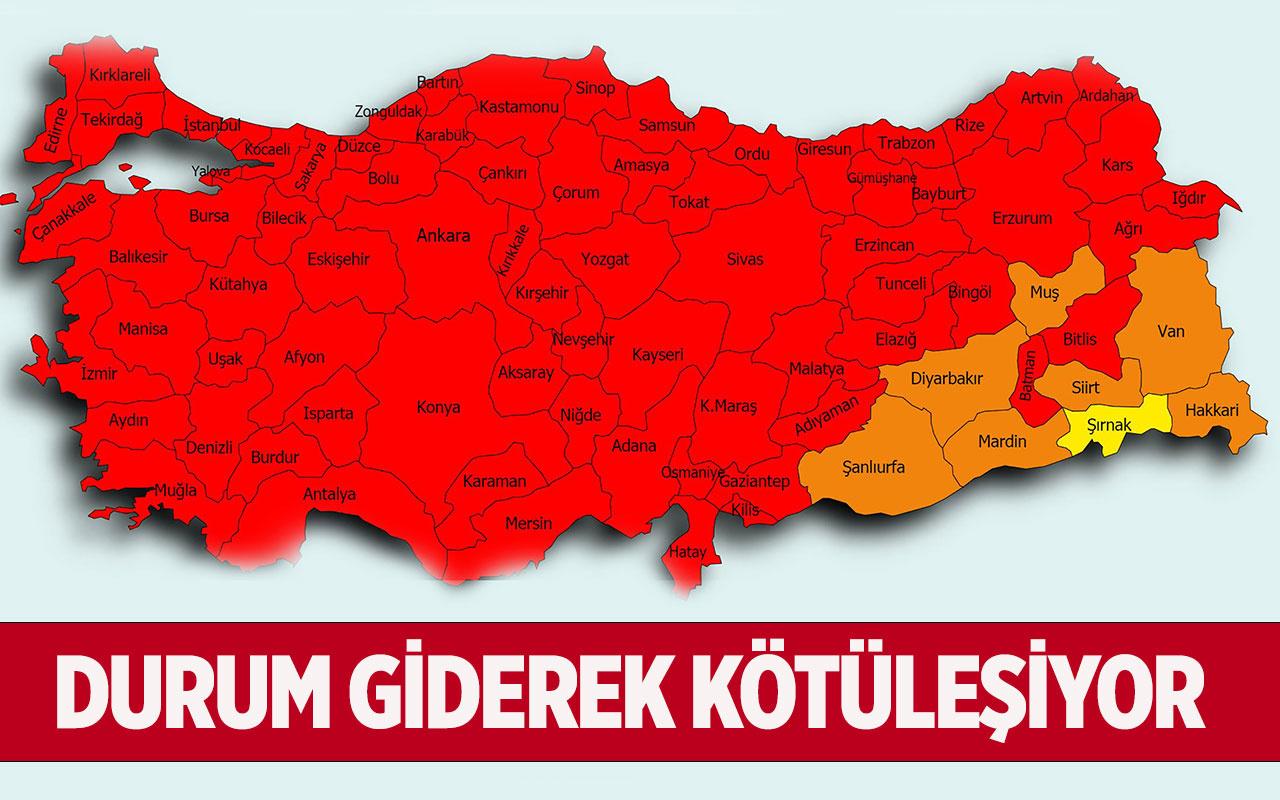 Sağlık Bakanı Fahrettin Koca açıkladı! Sadece iki ilde vakalar düştü 79 ilde vakalar fırladı