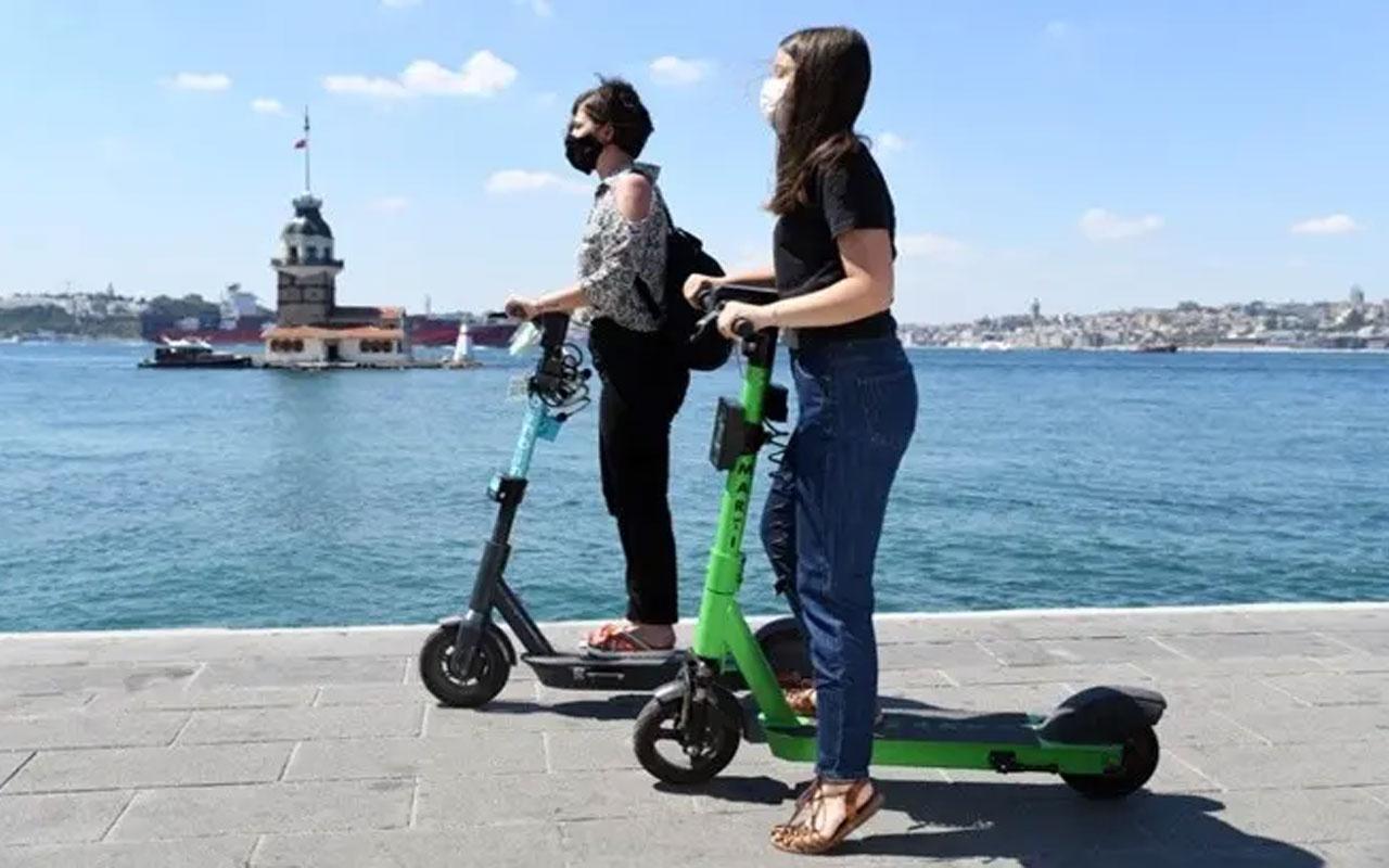 Elektrikli scooter yönetmeliği Resmi Gazete'de! Akrobatik hareketler yapmak yasaklandı