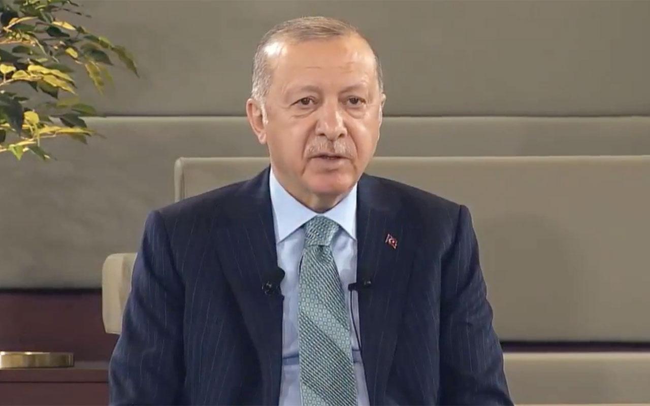 Cumhurbaşkanı Erdoğan'dan Kanal İstanbul mesajı! Montrö ile uzaktan yakından alakası yok