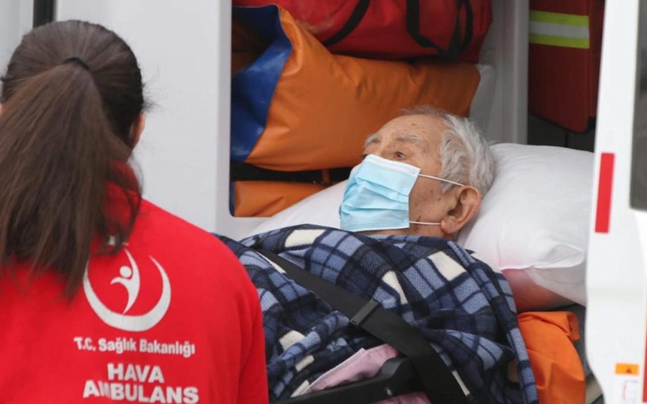 Ambulans uçakla getirilmişti! Prof. Dr. İlhan Başgöz hayatını kaybetti