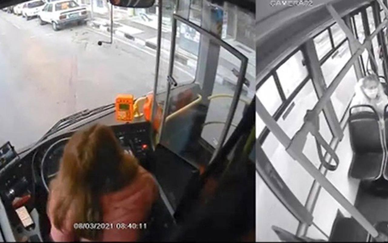 Telefona bakarken kaza yaptı kadın şoförün işine son verildi