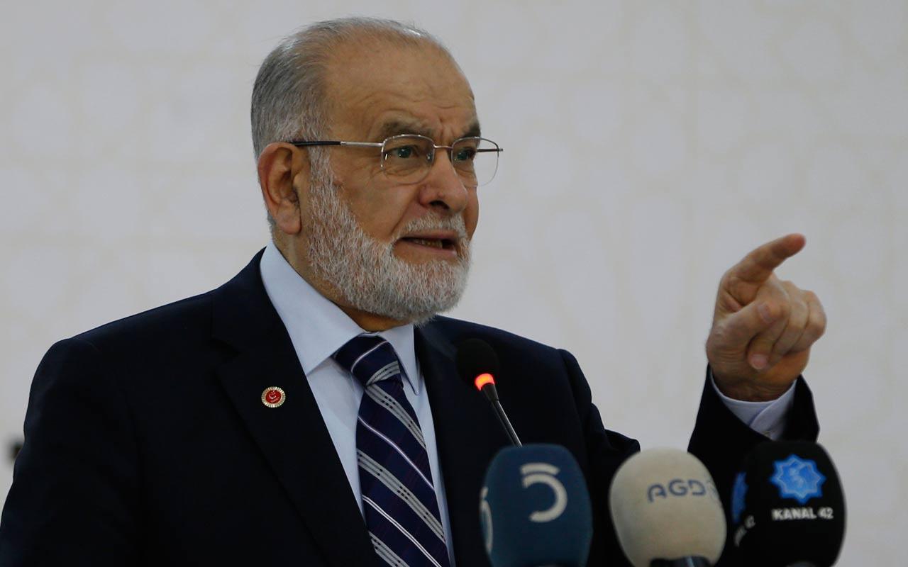 Saadet Partisi Genel Başkanı Karamollaoğlu, emeklilere 1500 lira bayram ikramiyesi verilmesini istedi