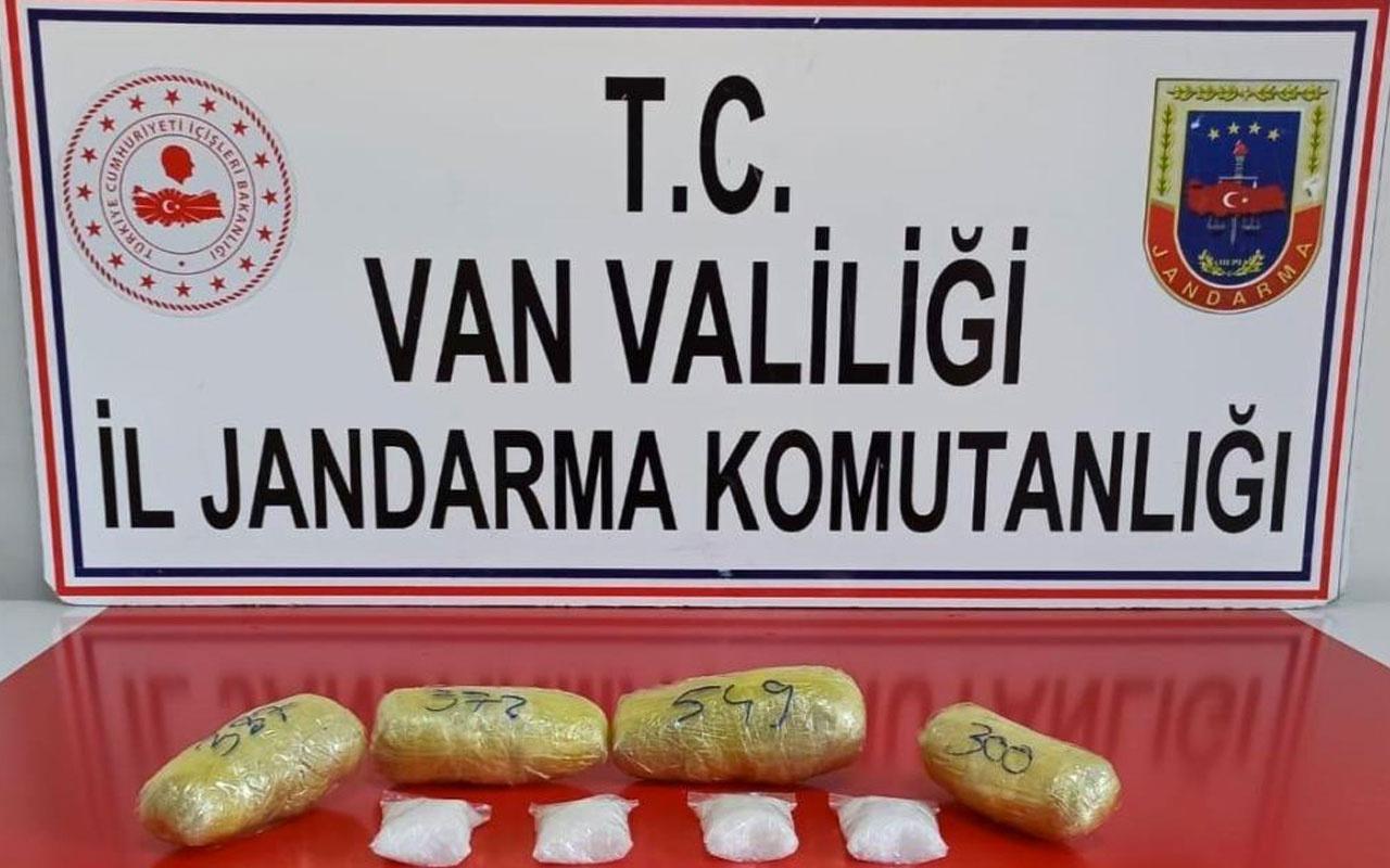 Van'da uyuşturucu operasyonu 3 gözaltı