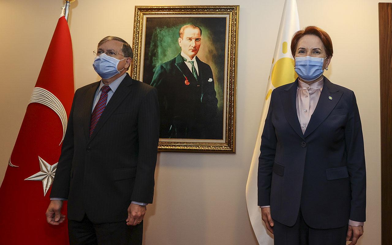 ABD Büyükelçisi Satterfield, İYİ Parti lideri Meral Akşener'i ziyaret etti! Kapalı kapılar ardında...