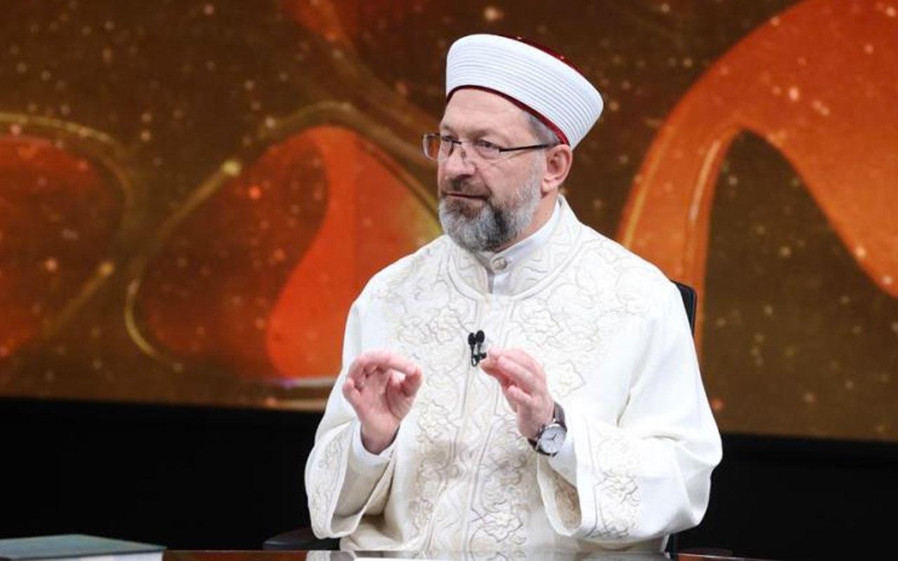 Ali Erbaş'tan dikkat çeken teravih namazı açıklaması Ramazan'ın ortasından sonra