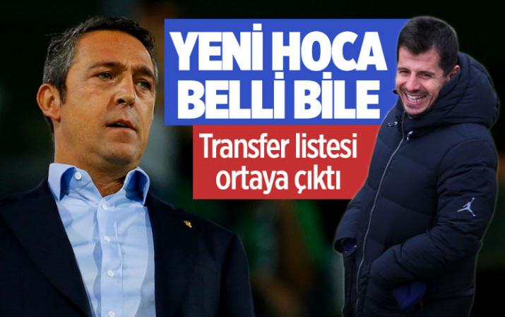 Fenerbahçe'den flaş Emre Belözoğlu kararı! Transfer listesi ortaya çıktı