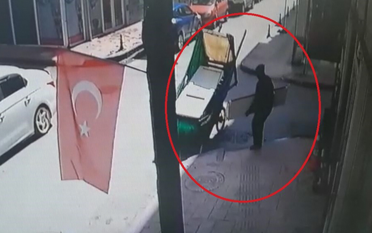 Samsun'da aynı yeri ikinci kez soyan hırsız suçüstü yakalandı