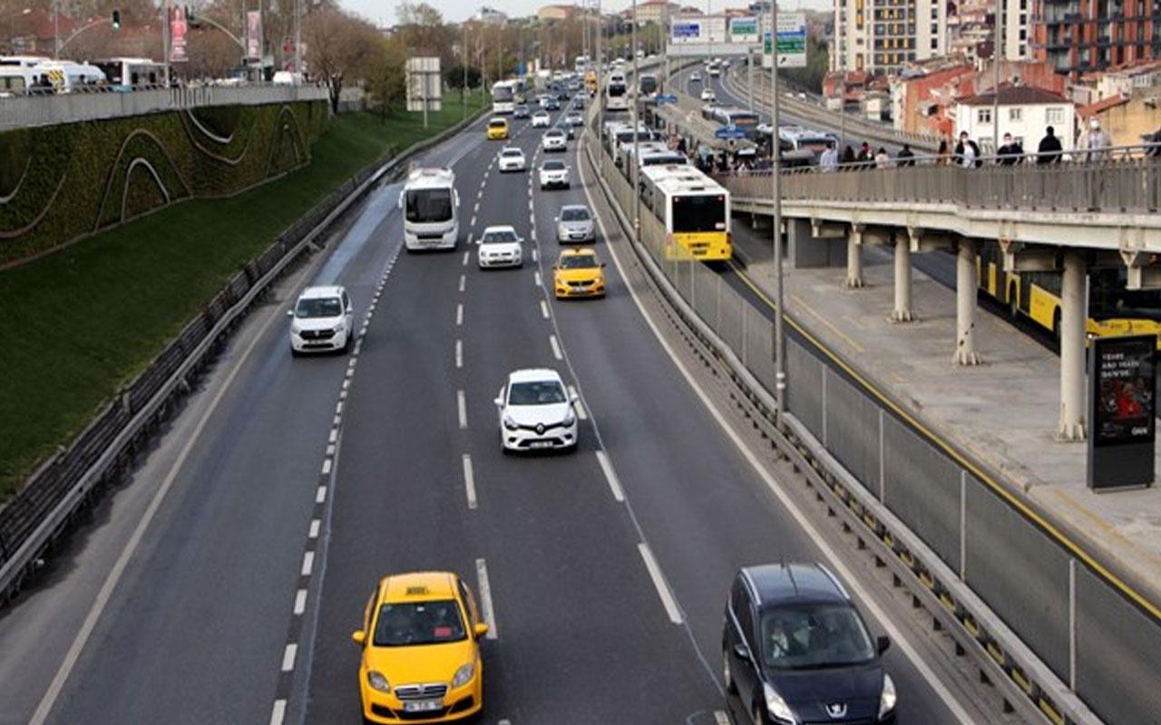 İstanbul trafiğine kademeli mesai etkisi! Yoğunluk azaldı