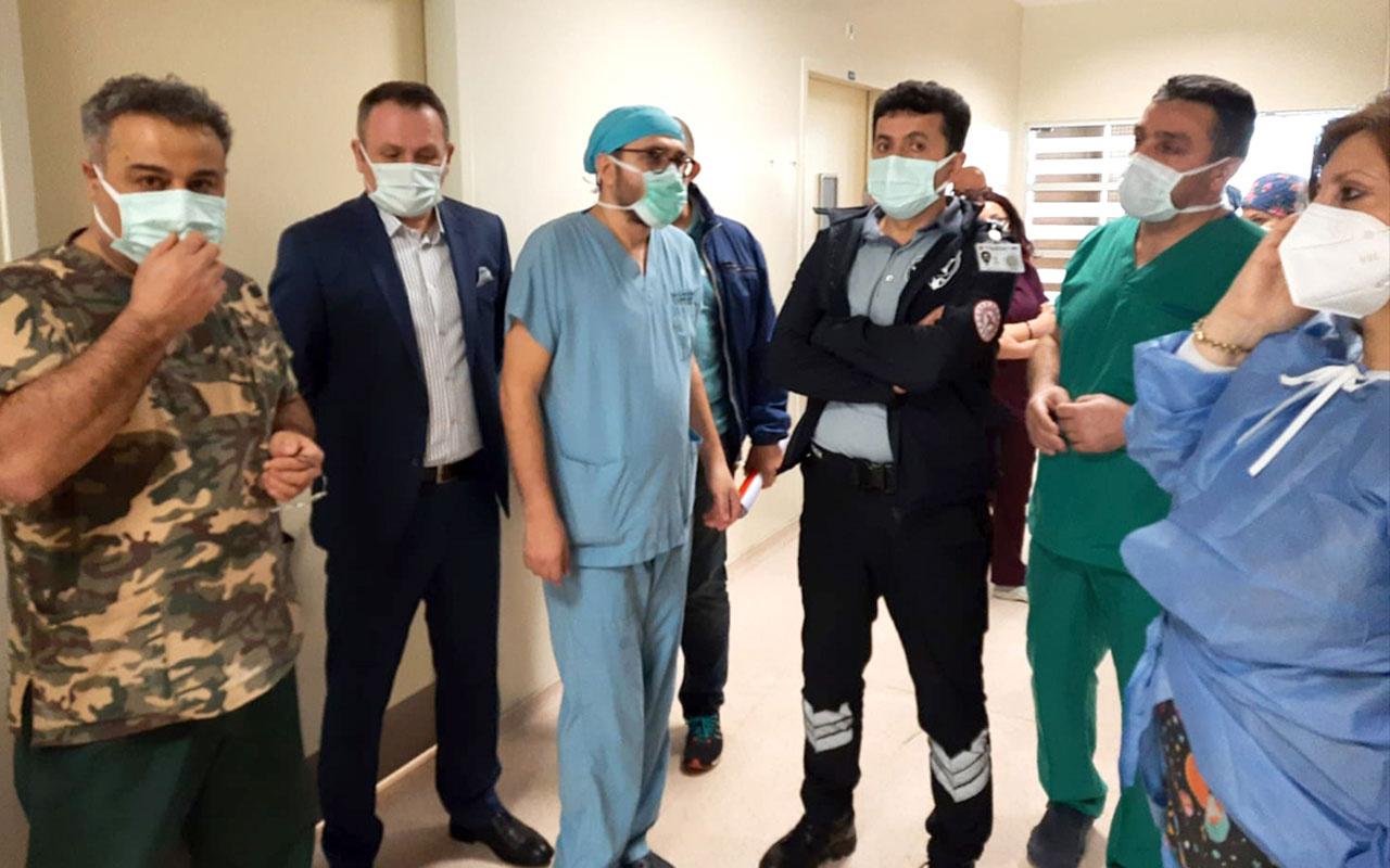 Ordu'da doktoru darbettiği ileri sürülen hasta yakını gözaltına alındı