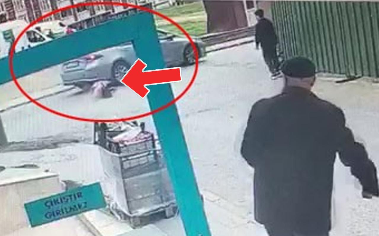 İstanbul'daki 7 yaşındaki çocuğa otomobil çarptı! Feci kaza anı kamerada
