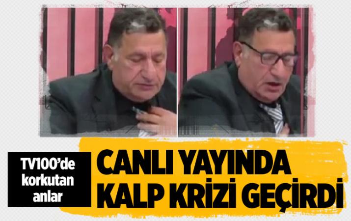 TV100'de korkutan anlar! CHP'li Çetin Soysal canlı yayında kalp krizi geçirdi