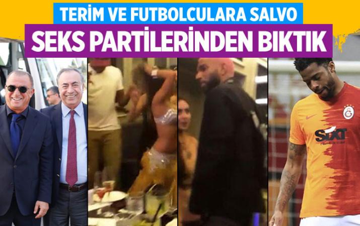 Mustafa Cengiz'den Fatih Terim ve Donk'a salvo: Seks partilerinden bıktık