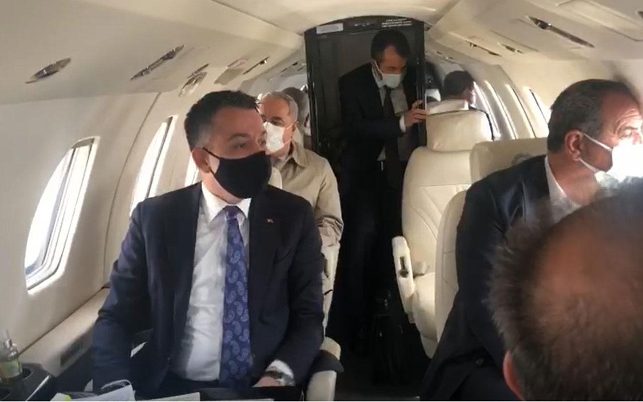 Tarım Bakanı Bekir Pakdemirli'nin uçağı havada arızalandı! Malatyaya acil iniş yaptı