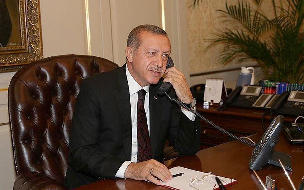Cumhurbaşkanı Erdoğan NATO Genel Sekreteri Stoltenberg ile telefonda görüştü