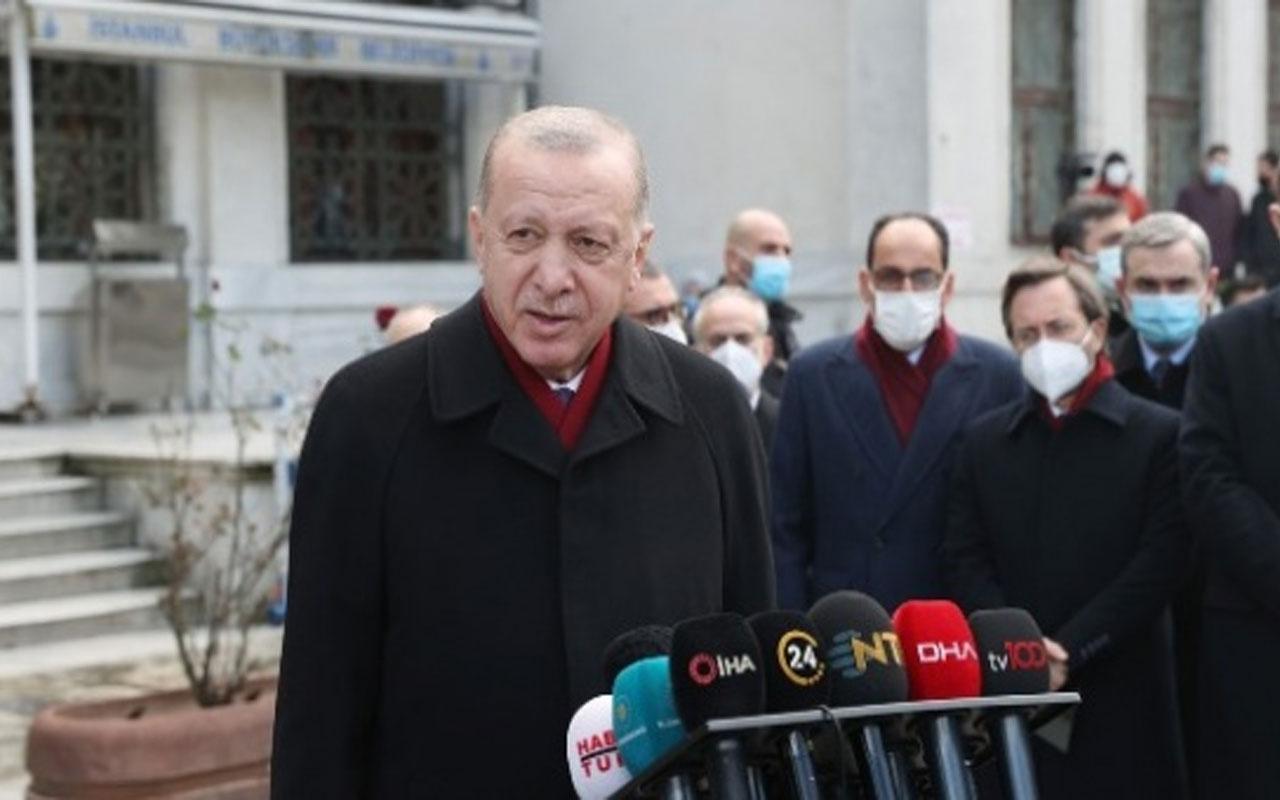 Cumhurbaşkanı Erdoğan: Çavuşoğlu, Yunan bakana haddini bildirdi