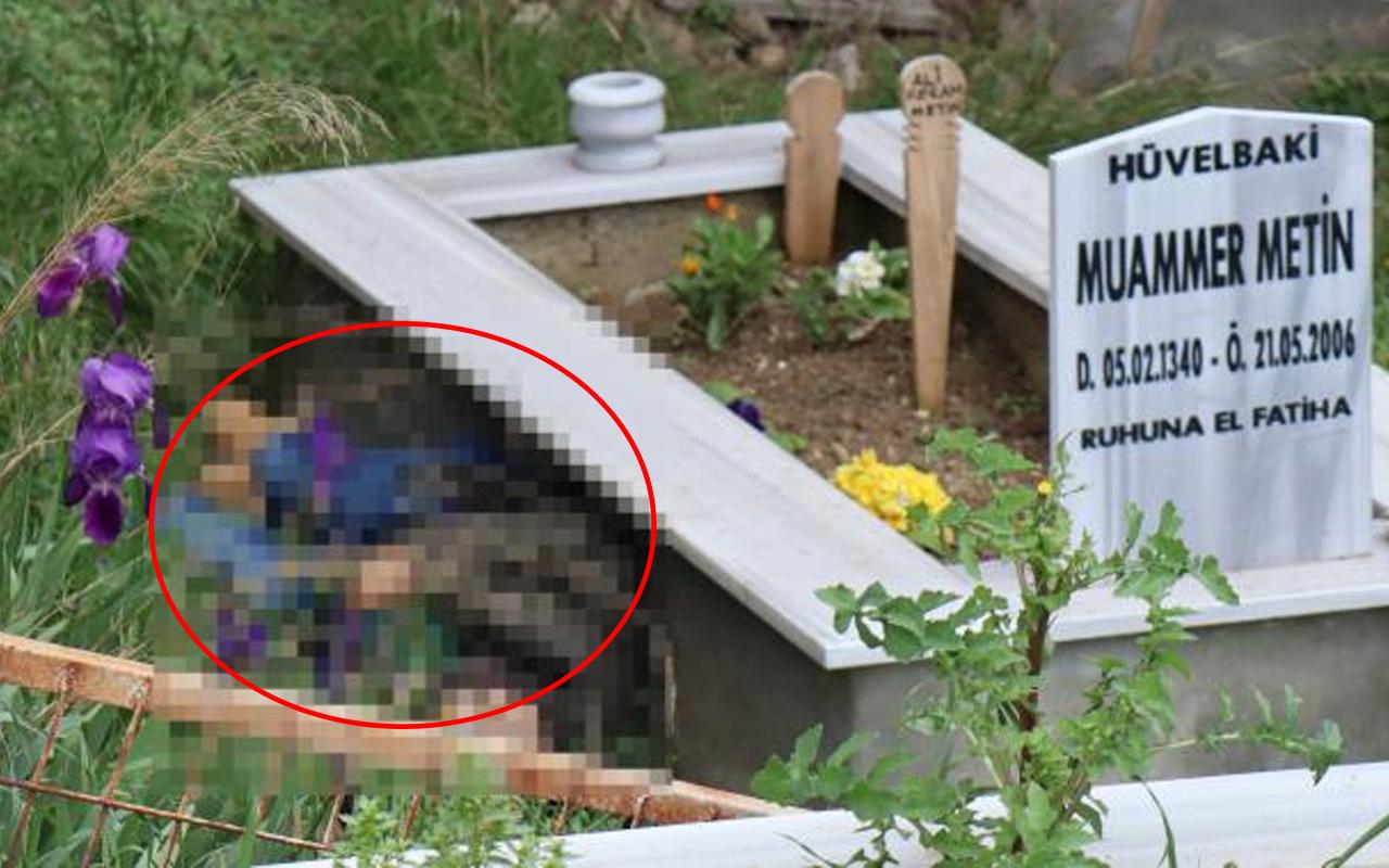 Kocaeli'de aile mezarlığına dua etmeye gitti! Dünyası başına yıkıldı