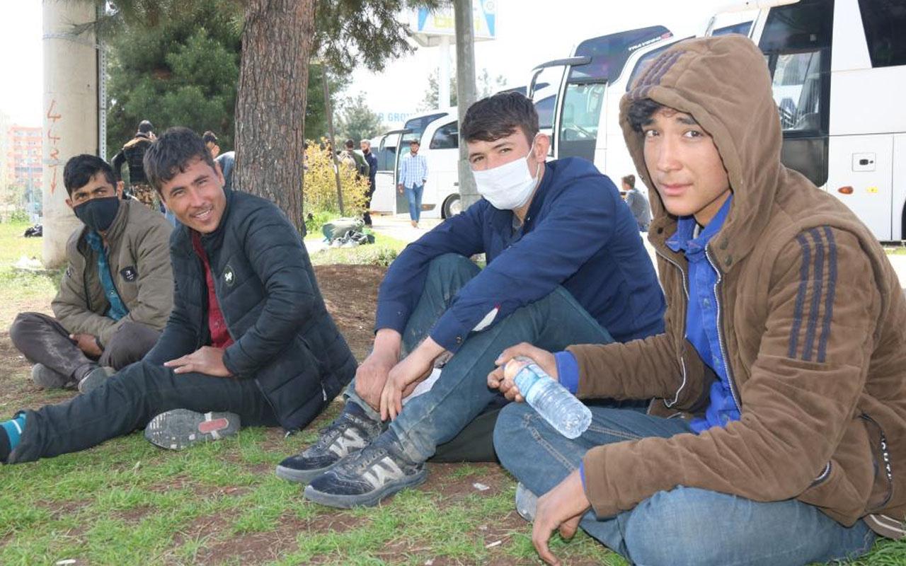25 günde Diyarbakır'a geldiler! Göçmenlerin dramları yürekleri burktu