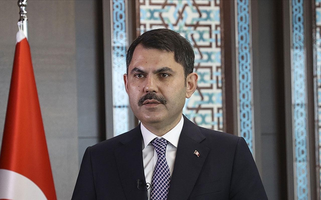 Bakan Murat Kurum'dan 'Yassıca Adalar'ı açıklaması