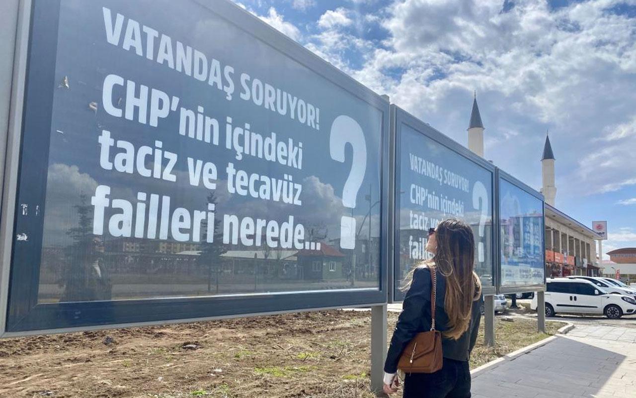 CHP'nin '128 milyar dolar nerede?' pankartına Ağrı'dan yanıt