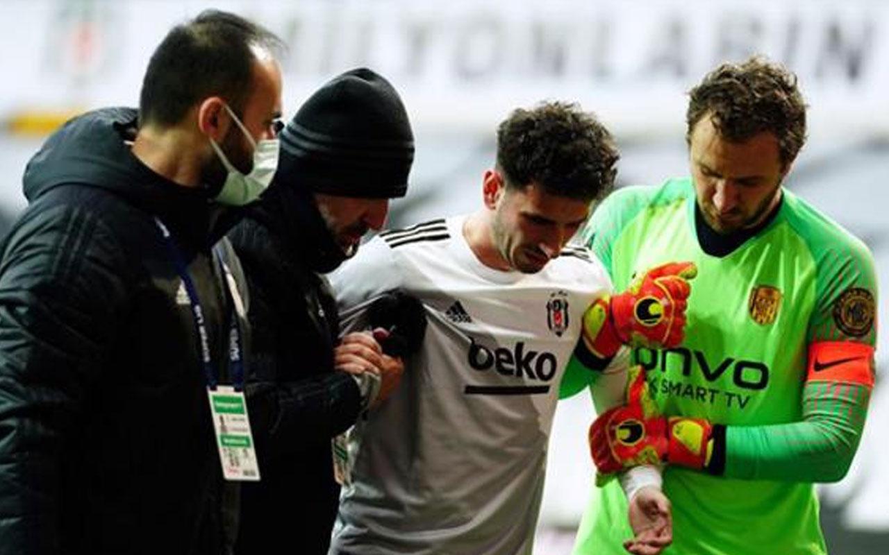 Oğuzhan Özyakup, Ankaragücü maçında sakatlandı